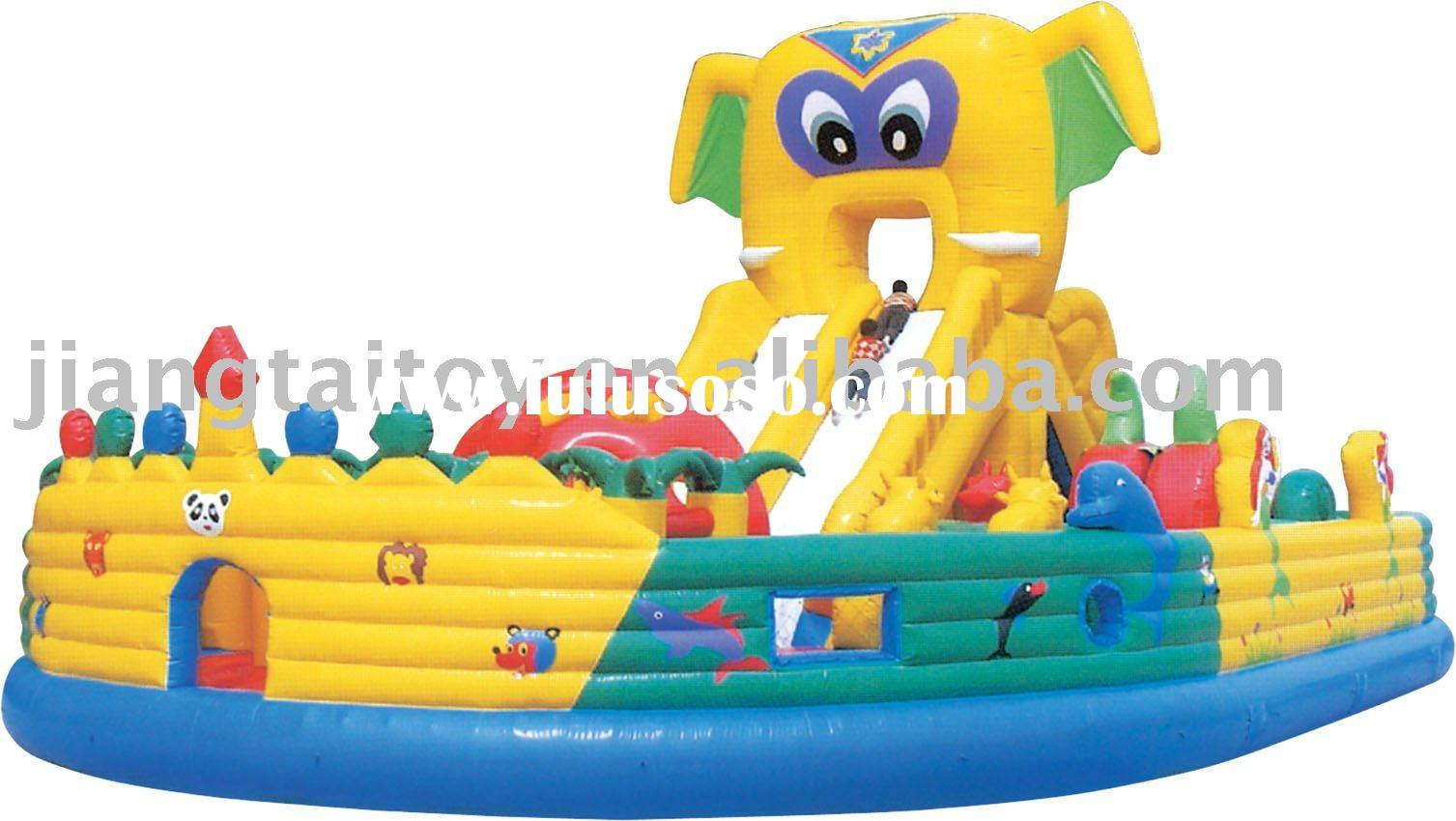 Inflatable bounce PVC castle climber slide jumppimg combo set games for kids.