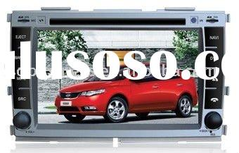 KIA FORTE radio/gps car dvd gps navigation Can-bus,OSD touch, tv, bluetooth, steering wheel control,