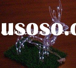 LED Solar Christmas deer light(72 LEDs)