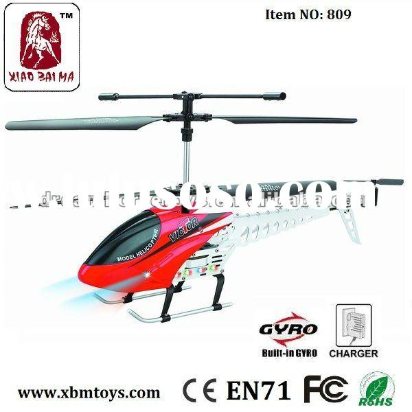 LED radio control with gyro rc helicopter
