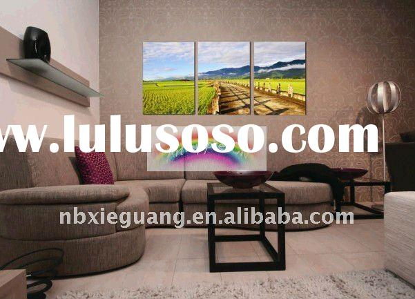 Landscape Painting,Wall Art on Canvas