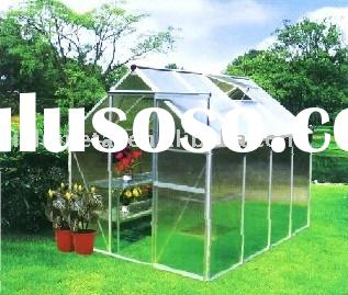 Large size greenhouse/garden greenhouse/aluminium greenhouse 8FT X 8FT JL30024