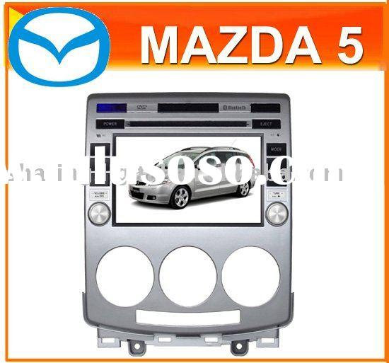 Mazda 5 car dvd with GPS/High Resolution/BT/Can bus (MZD-7251GD)
