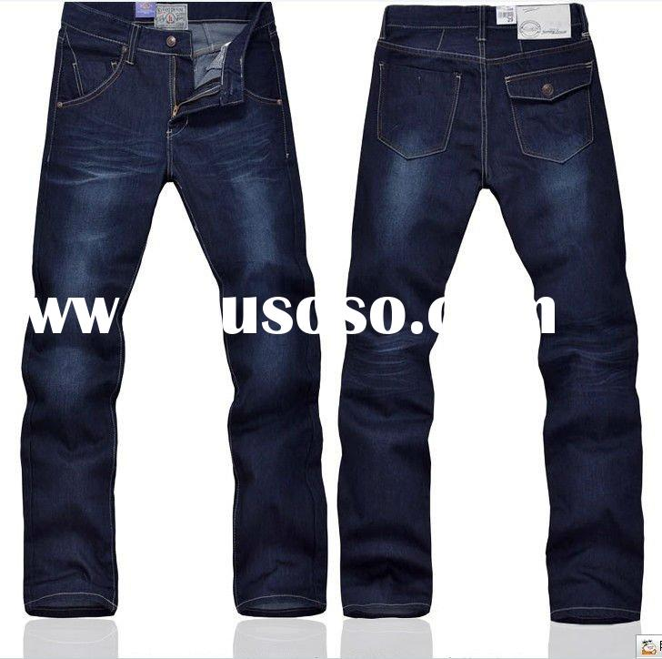 Men's fashion denim jeans in 2012