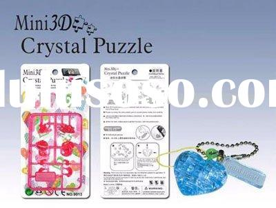 Mini 3D Crystal Puzzle-Heart CT-3441