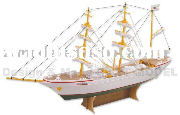 good for sailor: Complete Model sailboat sail design