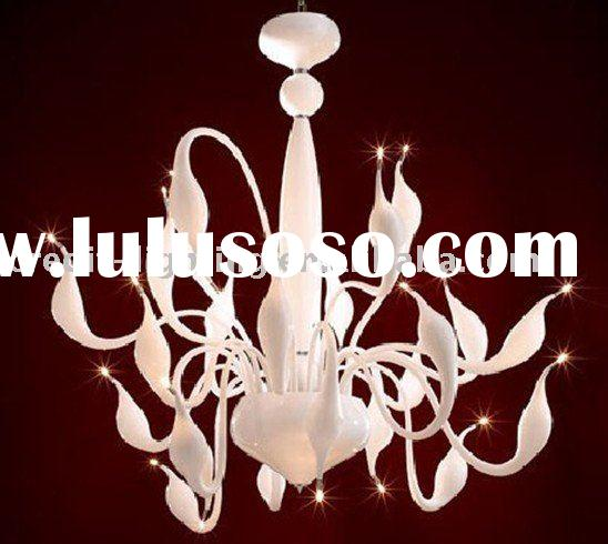 Modern Glass Chandeliers|Venice Glass Swan Pendant Lamp From China Manufacturer,Swan Chandelier