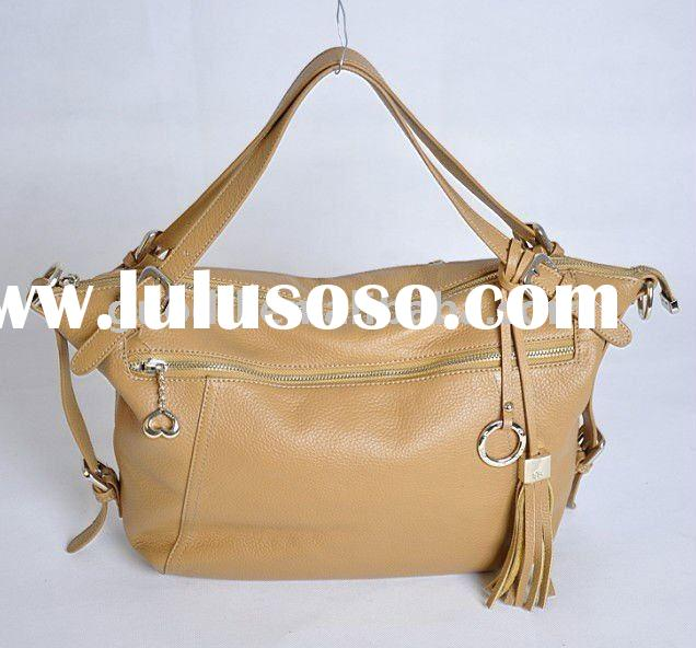 New Arrival !2012 Fashion and high quality lady genuine leather handbags