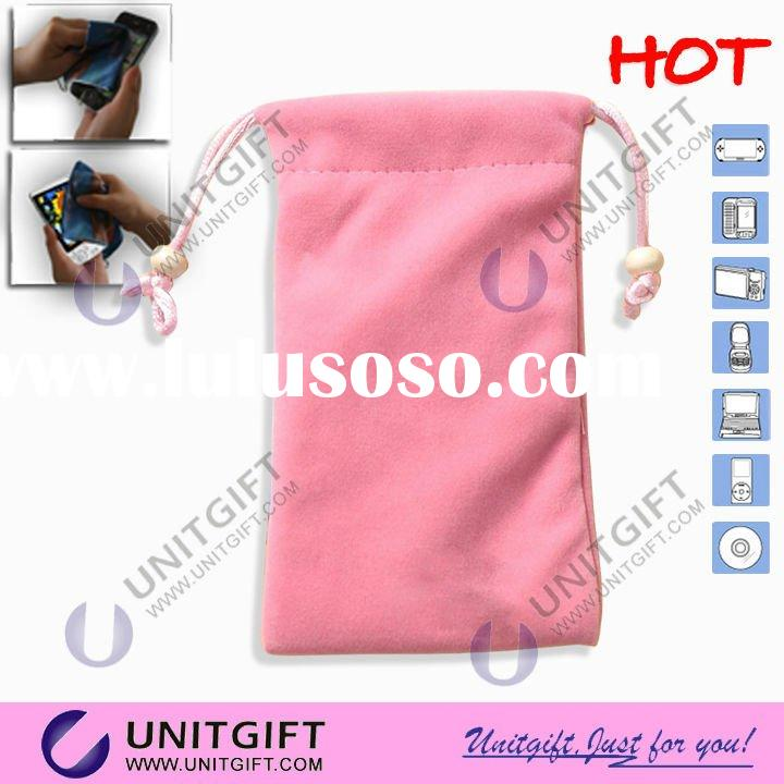 New Arrival microfiber mobile phone pouch