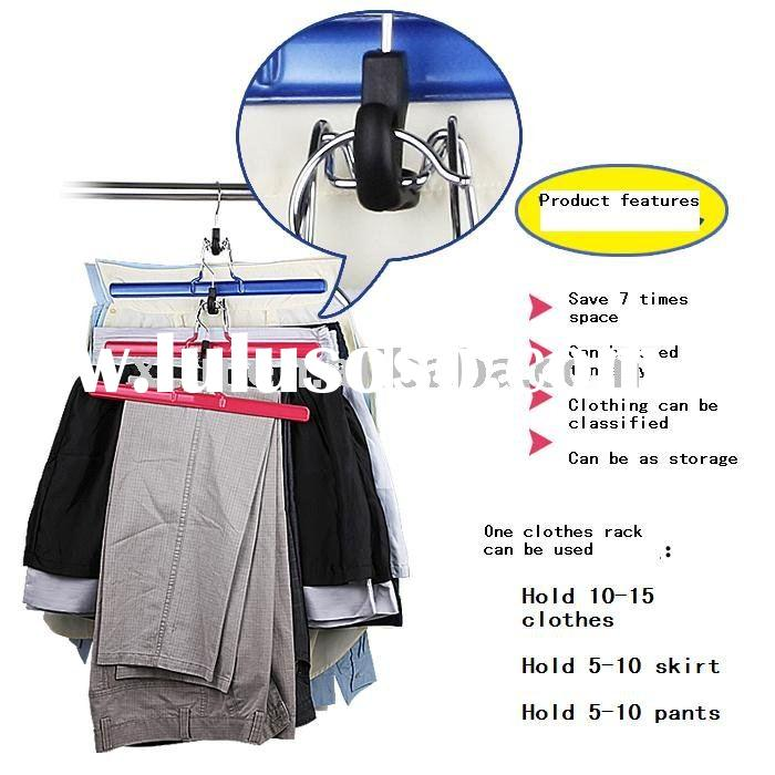 New Arrivel!Magic multi-function doll clothes hanger rack ,metal hanging clothes display racks
