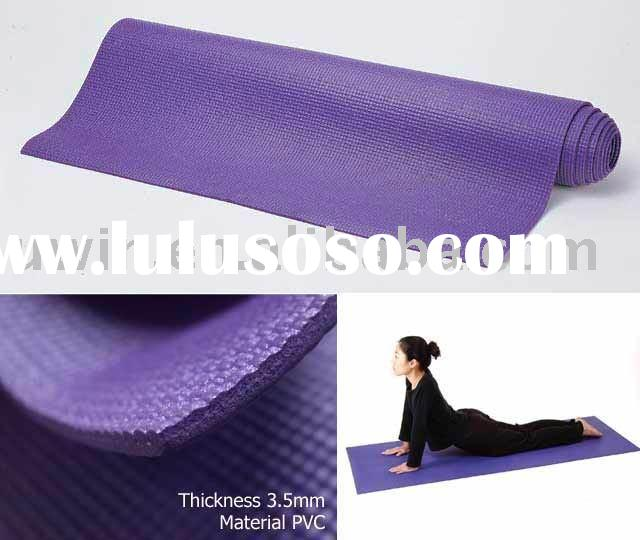 Non-slip Purple Eco Foam Yoga Mat