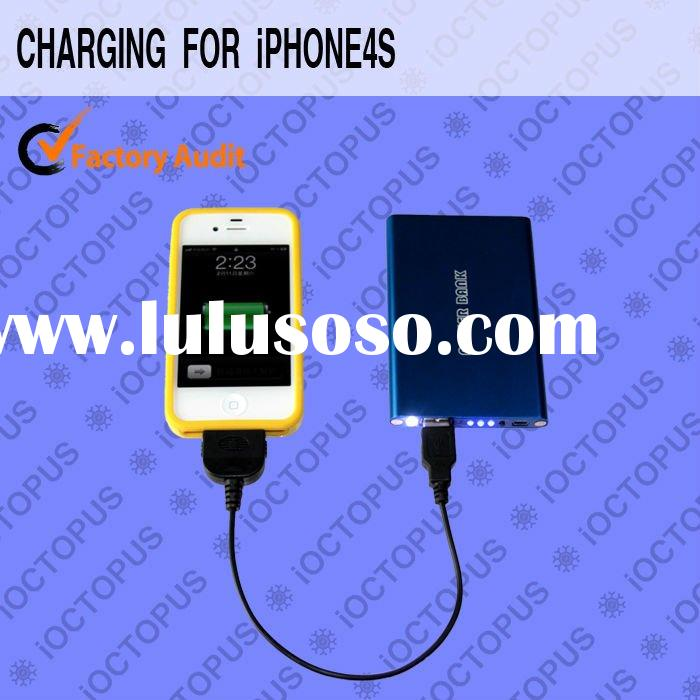 OEM 4800mAh mobile battery charger for iphone4 Galaxy tab ipad Blackberry HTC SonyEricsson Samsung N