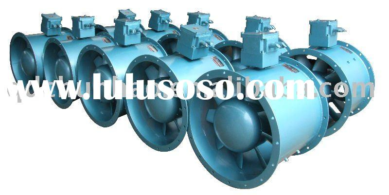 Oil tanker exhaust fan~explosion-proof axial type