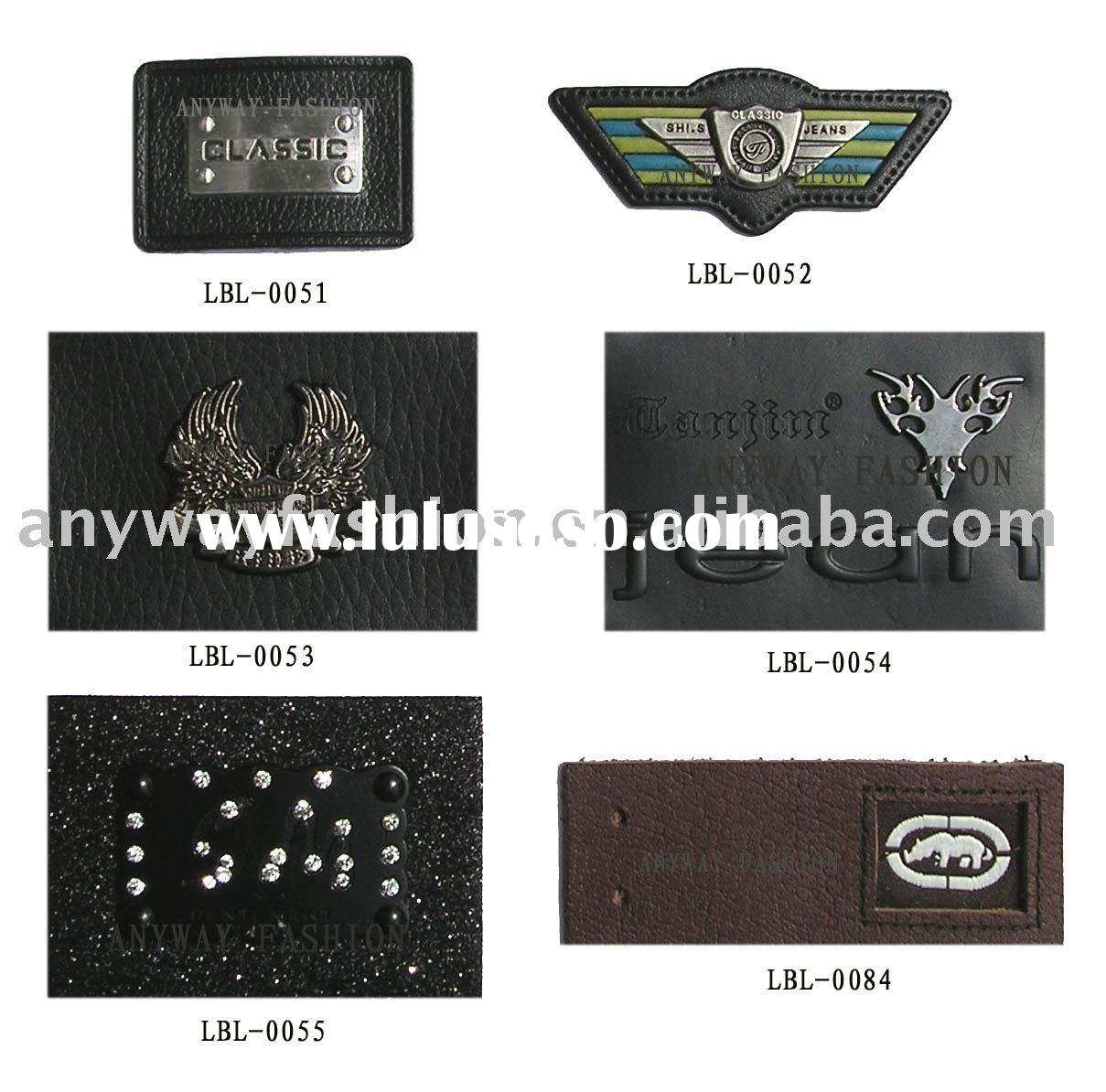 PU label,leather patch