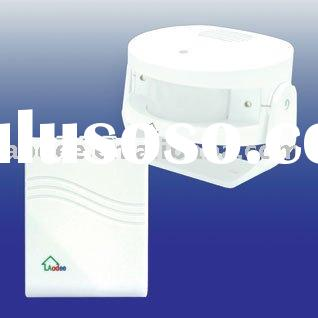 P-008D Wireless Battery-operated PIR sensor alarm/doorbell