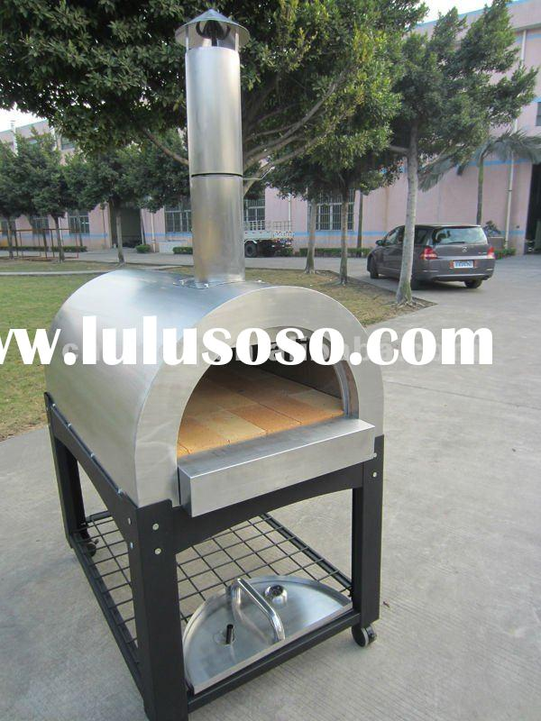 Pizza Ovens with Refractory Stone