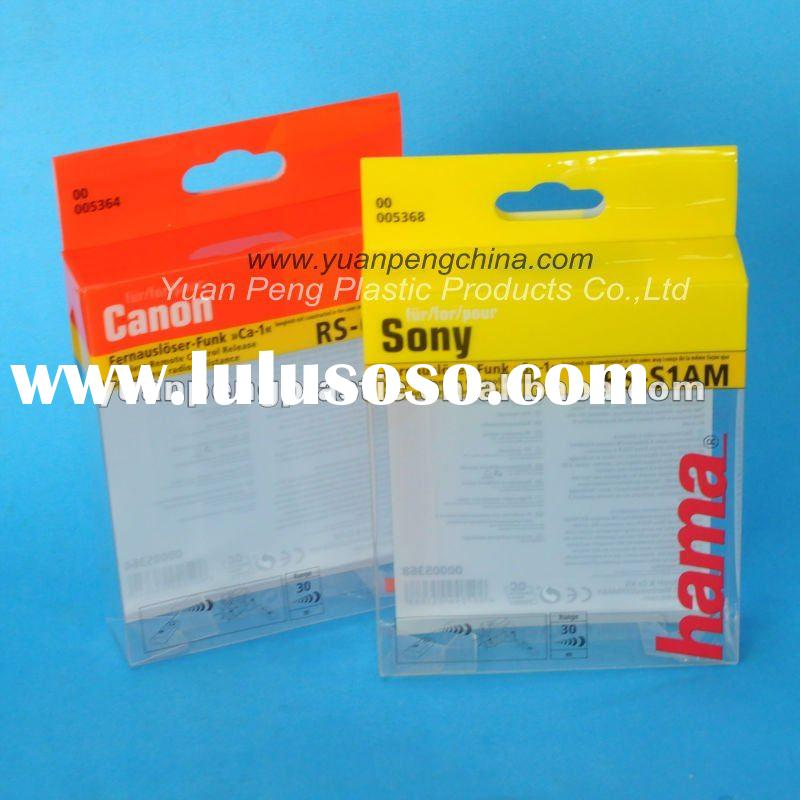 Plastic Folding Box for Packaging Electronic