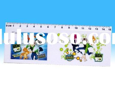 Plastic puzzle ruler stationery toy / ben 10 toys