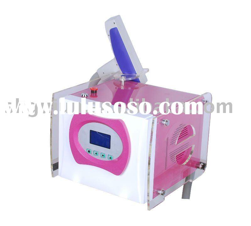 Portable Q Switched Nd:YAG Laser Hair Removal Machine