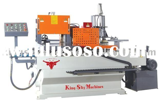 Rack Shaping & Glue Spraying Machine For Alu-wood Door & Window