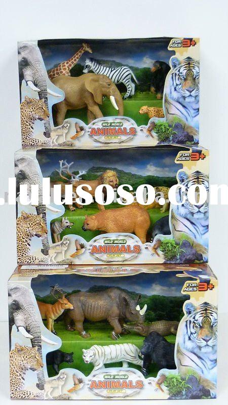 Realistic Animal Figurines Play Set