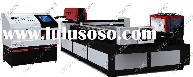Round metal tube 3 axis laser metal cutting machine