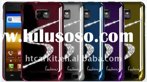 S style Swarovski Diamond Crystal Bling Case Cover for Samsung Galaxy S2 i9100