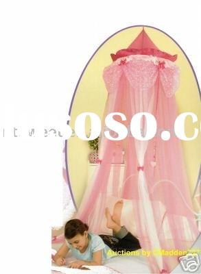 Sell Princess Bed Canopy,100% polyester mosquito net, baby mosquito