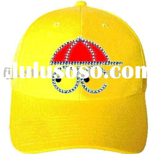 Special design kids baseball sports caps,hats with LED