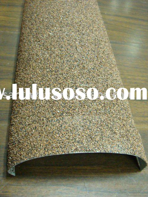 Stone coated metal roof tile