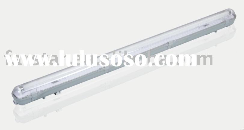 T8 40W waterproof fluorescent lighting fitting with IP65