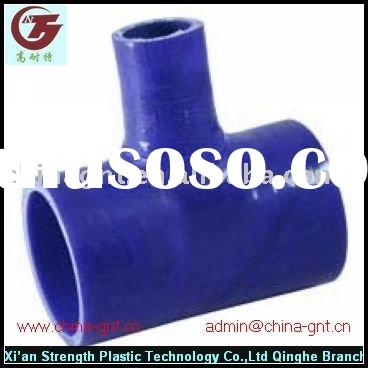 T-shape elbow reinforced silicone rubber hose/tube
