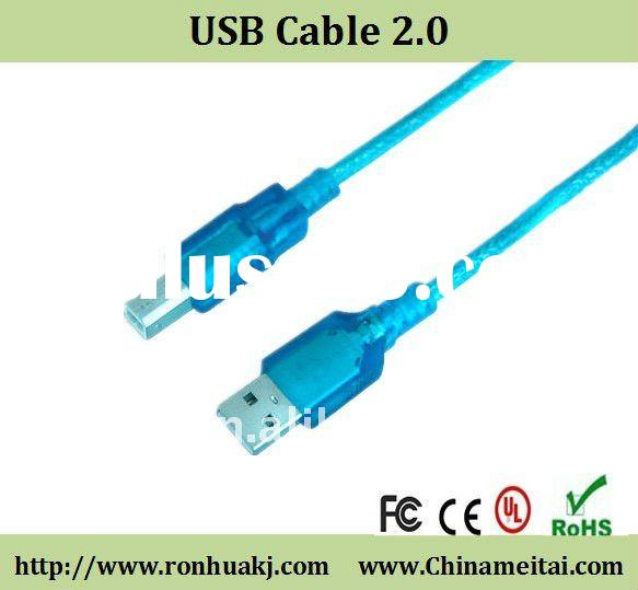 USB cable 2.0#UL Approved, AWM 2725. USB 2.0 version, RoHS