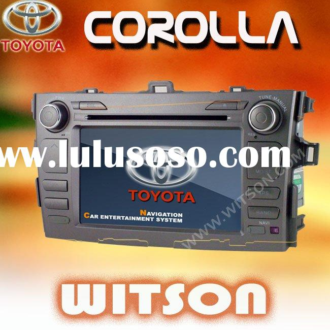 WITSON TOYOTA COROLLA 7 inch double din car dvd with gps
