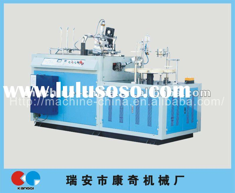 WT-30 Automatic Ripple Double wall Paper Cup Shaping Machine