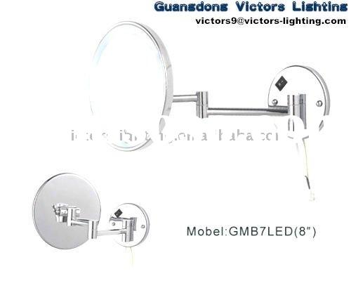 Wall mounted shaving mirror GMB7LED