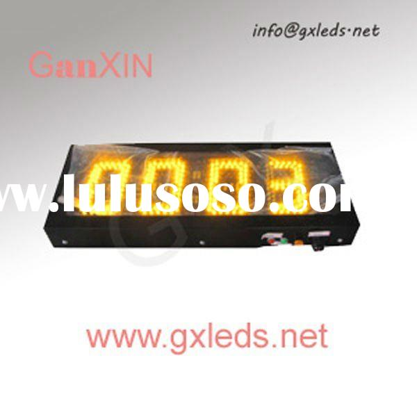 Yellow big digital clock new hot products alibaba digital time clock