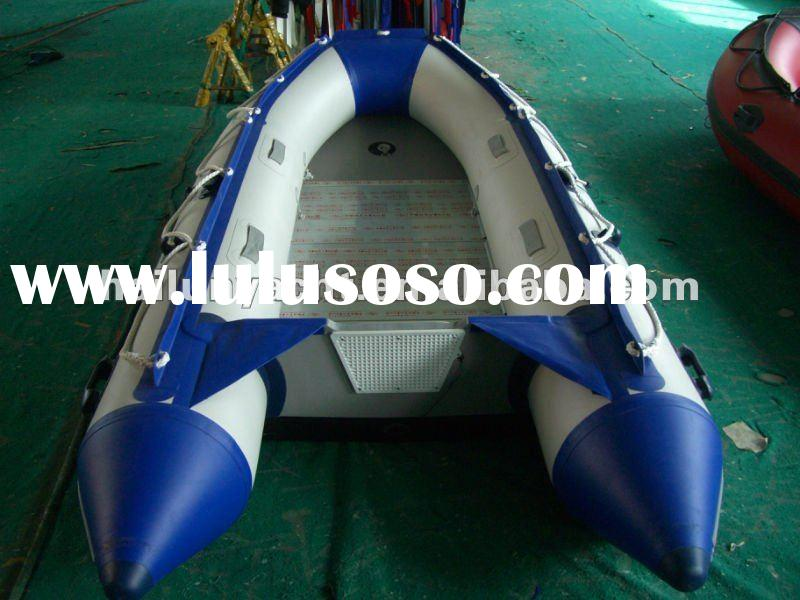 (CE)PVC or Hypalon Aluminum boats for sale