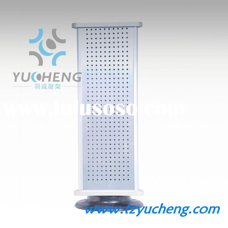 [YUCHENG]4 side countertop jewelry display stand with hole board A102