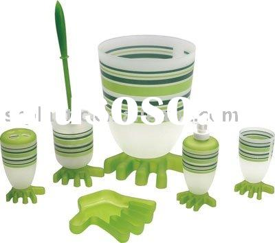 .plastic bathroom set,bathroom set,plastic bathroom accessories