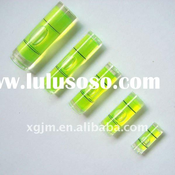 acrylic bubble level, circular level vial,circular, tubular bubble,square vial,Gradienter level bubb