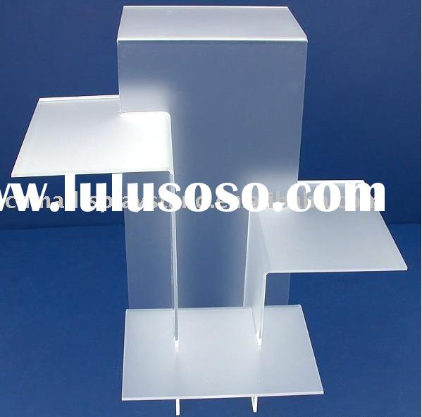 acrylic shoe display stand, acrylic footwear holder, acrylic boots exhibitor, acrylic tabletop displ