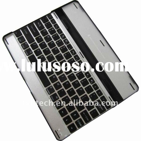 aluminum case with bluetooth keyboard for ipad2