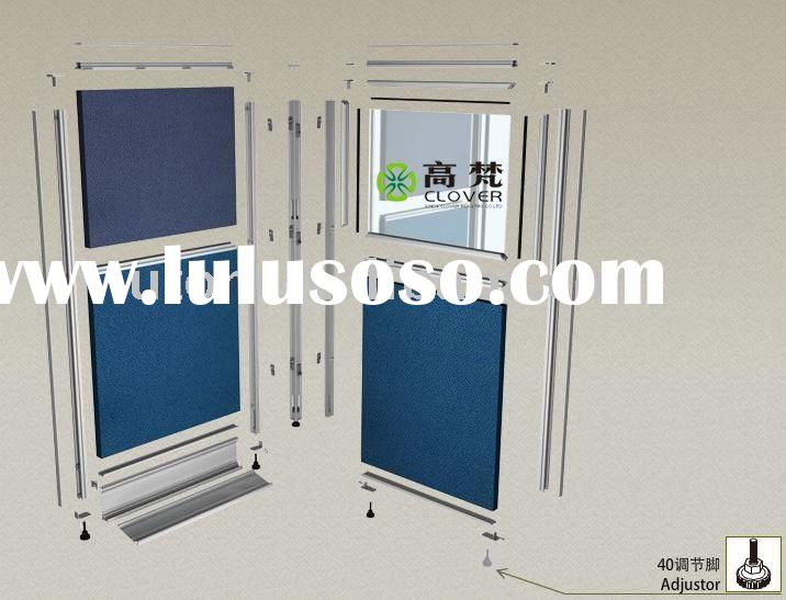 aluminum profile accessories for T3 office partition(adjustor)