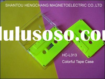 audio cassette (fluorescent yellow housing)