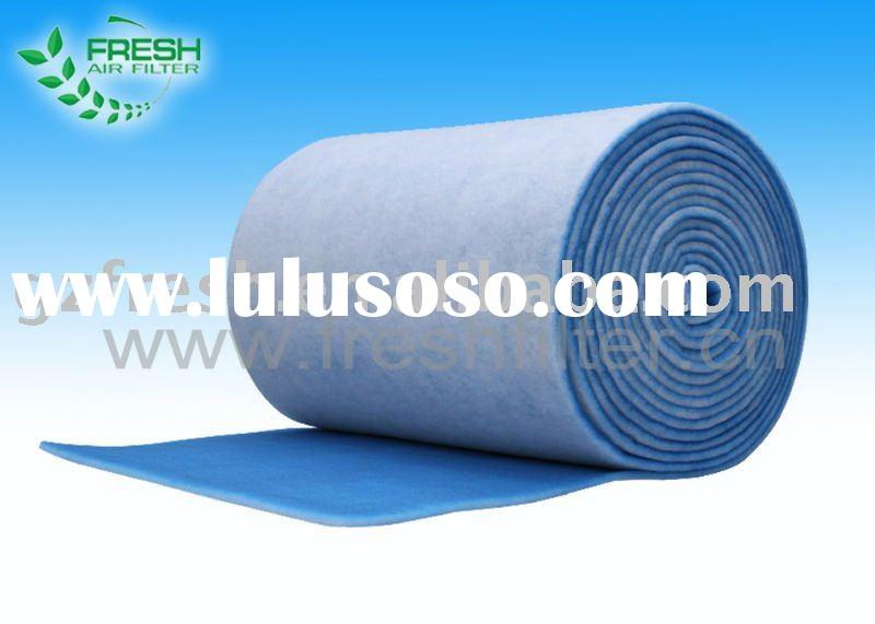 auto spray booth filters air polyester air filter material,air