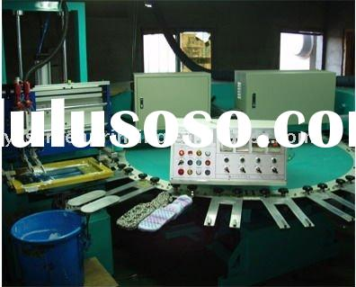 automatic socks printing machine & automatic screen printing machine on gloves