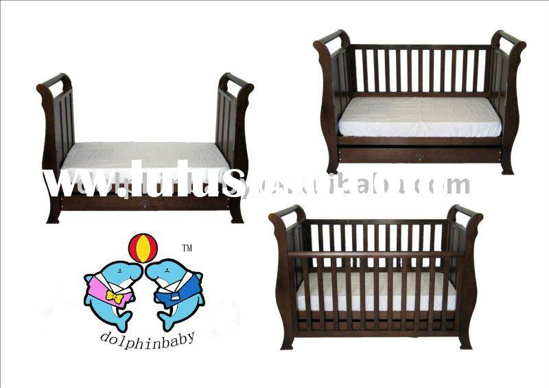 baby cot baby bed, baby furniture,high quality Australia baby cot bed
