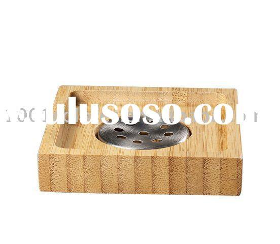 bathroom accessories-wood and bamboo soap dish