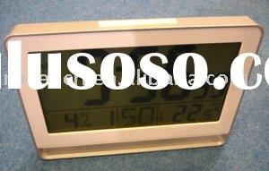 big size LCD digital wall clock with big number display
